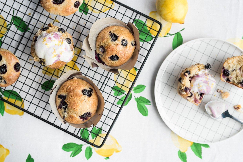 Recette muffin citron bleuets_Nutrinor_Marie des neiges Magnan